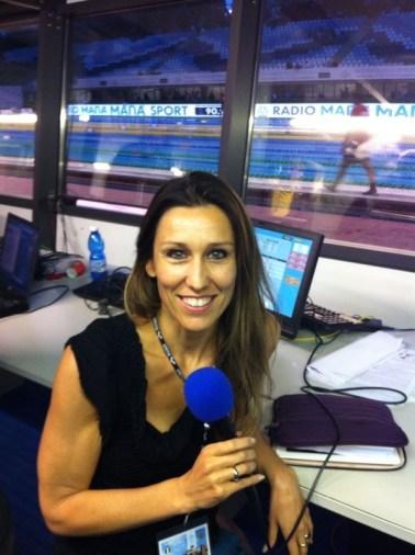 Cristina Chiuso, ex capitana della Nazionale Italiana, commentatrice televisiva ed esperta di nuoto americano.