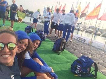 Fondo - Mondiali Juniores 2014 Team Italia post allenamento nel lago Balaton