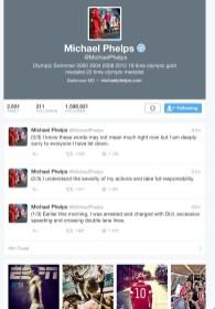 Le scuse di Michael nel suo account Twitter
