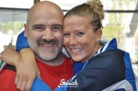 Laura Letrari e coach Dario Taraboi