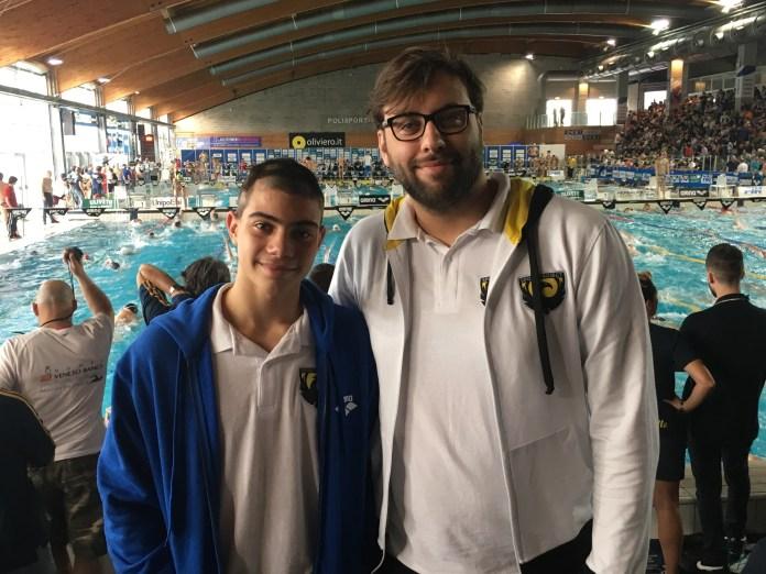 Luca Di Tullio e Daniele Borace - ph.swimmingchannel.it - iSwim Shop