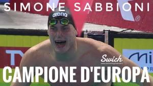 Simone Sabbioni - Oro 50 dorso