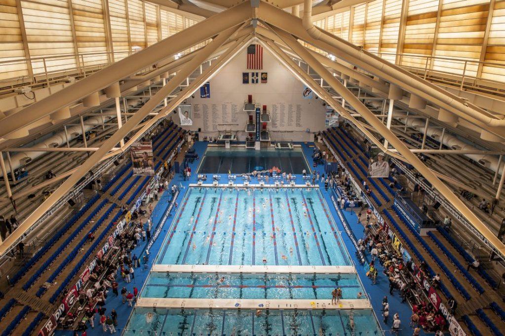 Indiana University Natatorium swimmers