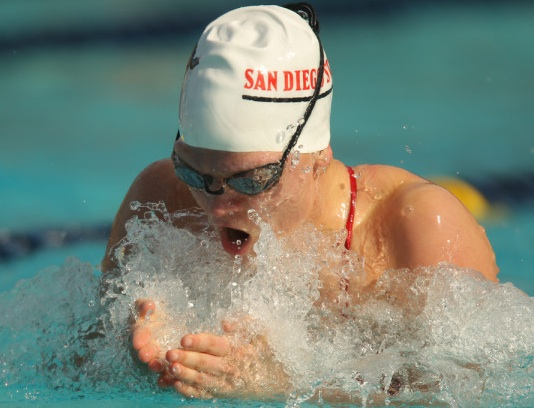 San Diego State University swimming