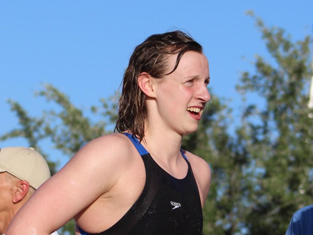 Katie Ledecky Shines As Georgetown Boys Churchill Girls Win