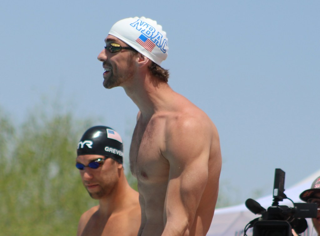 Michael Phelps swimmers posture