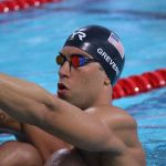 Matt Grevers Backstroke Start Summer Nationals 2014