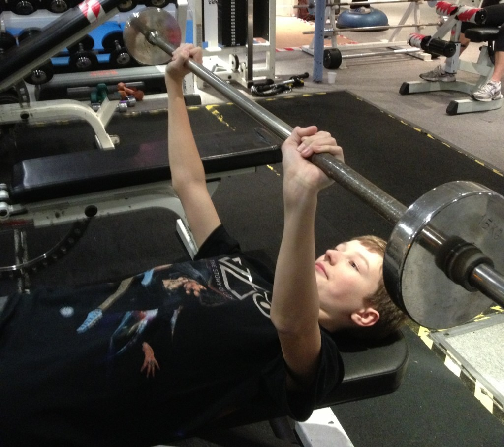 Weight Training For Teenage Swimmers