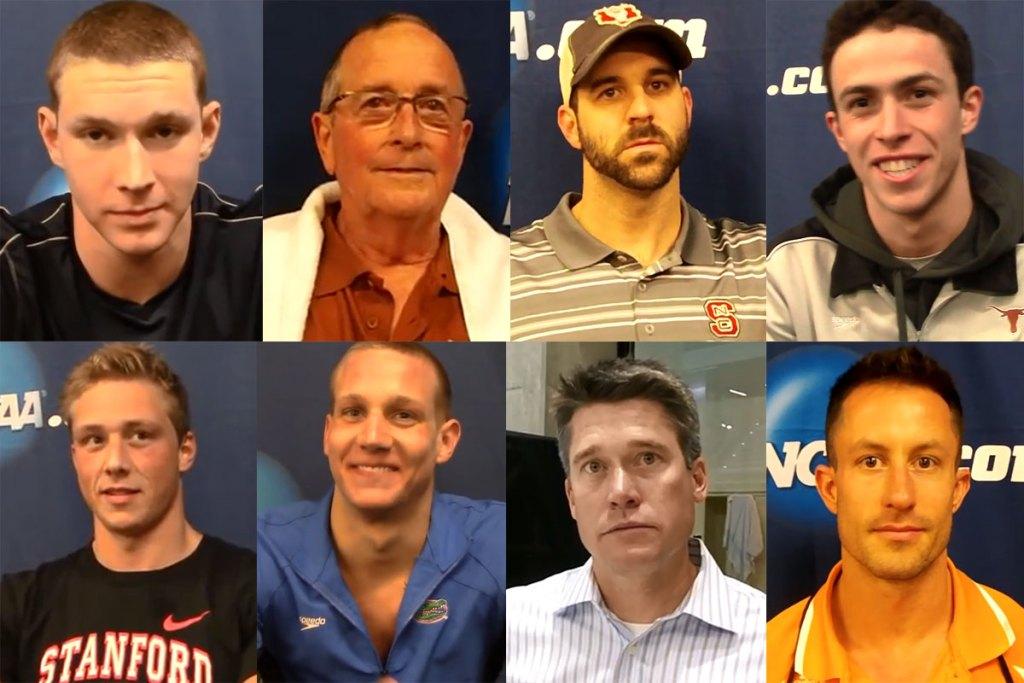 Men's NCAA championships interviews