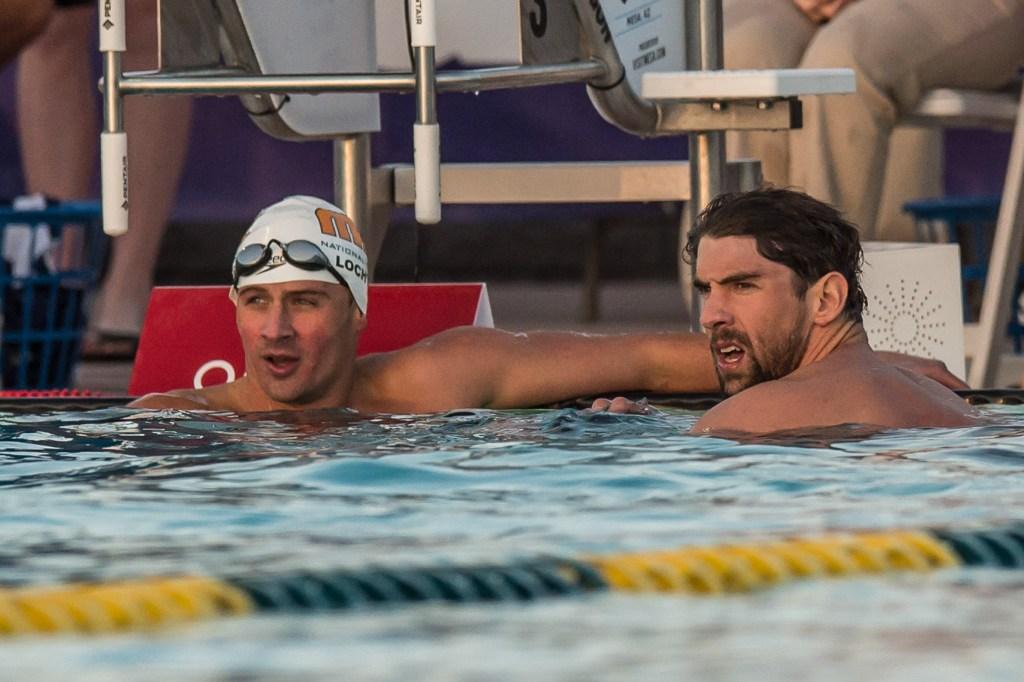 Michael Phelps Ryan Lochte
