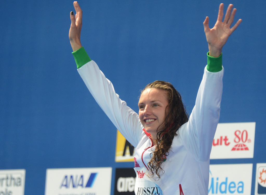Katinka Hosszu world-championships