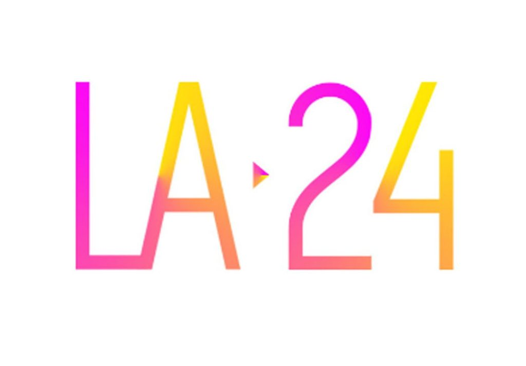 LA 2024 logo