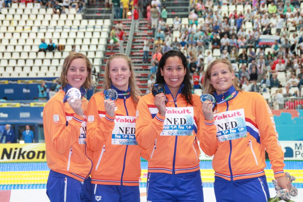 netherlands-fina-world-championships-400-free-relay