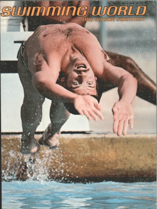 swimming-world-magazine-april-1977-cover
