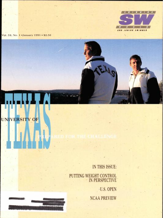 swimming-world-magazine-january-1991-cover