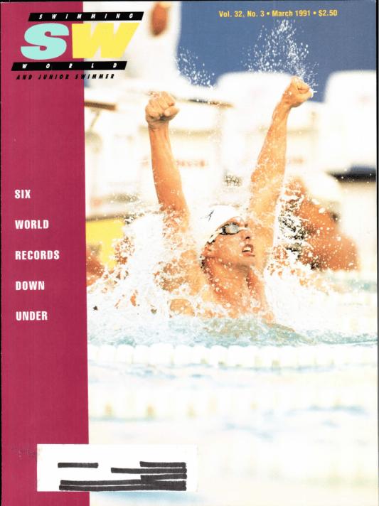 swimming-world-magazine-march-1991-cover