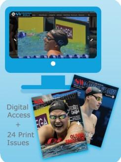 Swimming World Digital_Access_Plus_24_Print_Issues