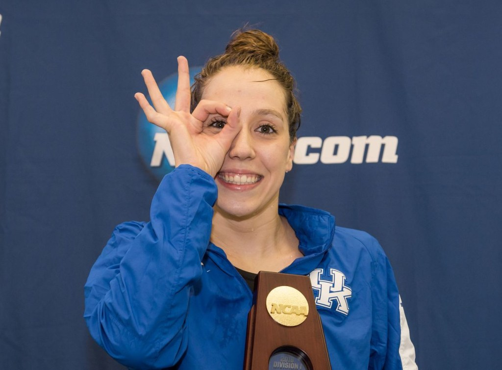 2016.03.19 2016 Womens NCAA Swimming Championships_Kentucky Danielle Galyer