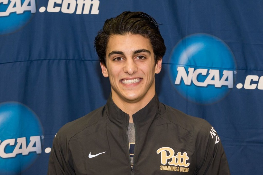 2016.03.24 NCAA Mens Swimming Championships_Dominic Giordano Pittsburgh 1M