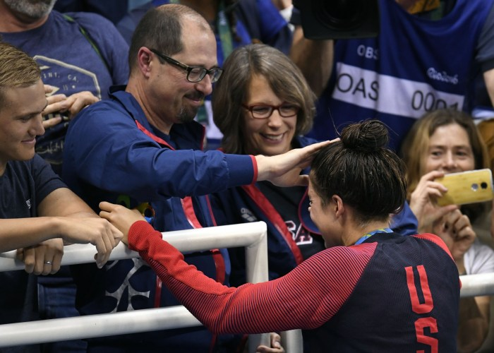 family-maya-dirado-post-medal-ceremony