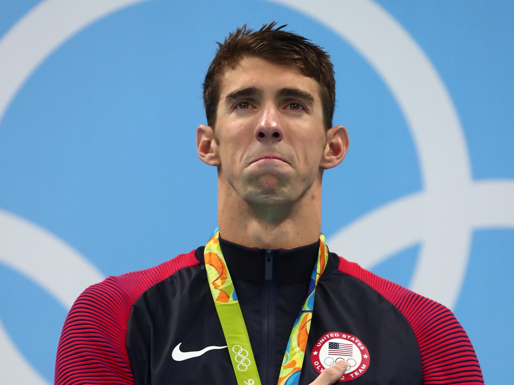 Michael Phelps stor Dick