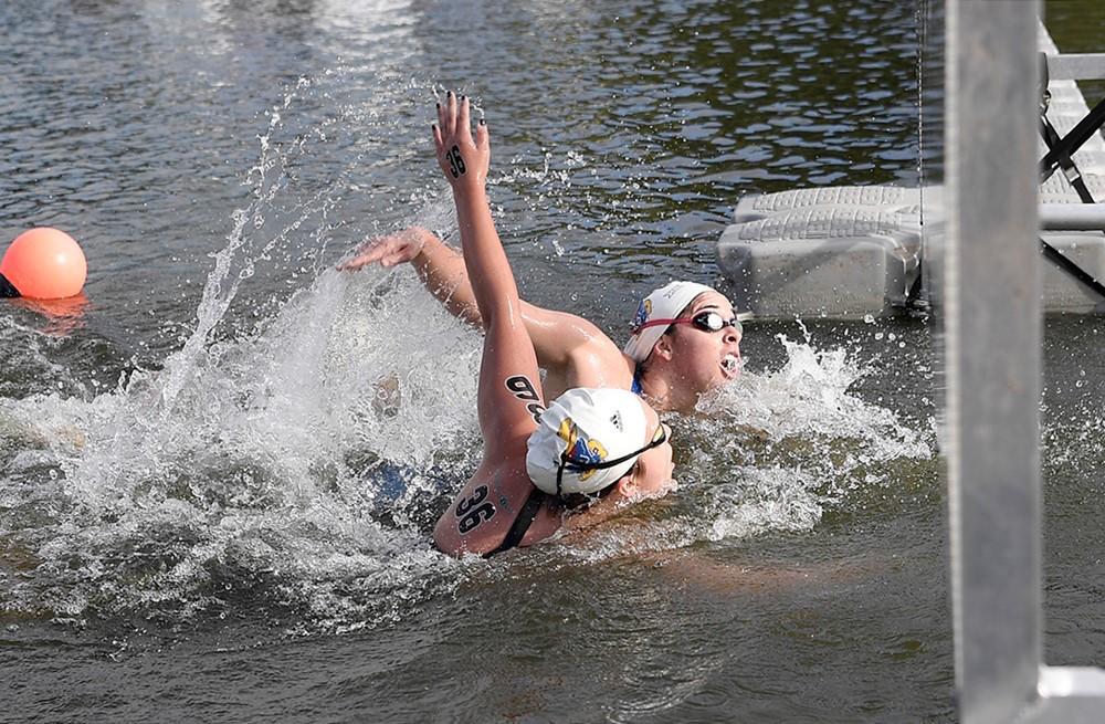 haley-bishop-libby-walker-open-water-finish-kansas