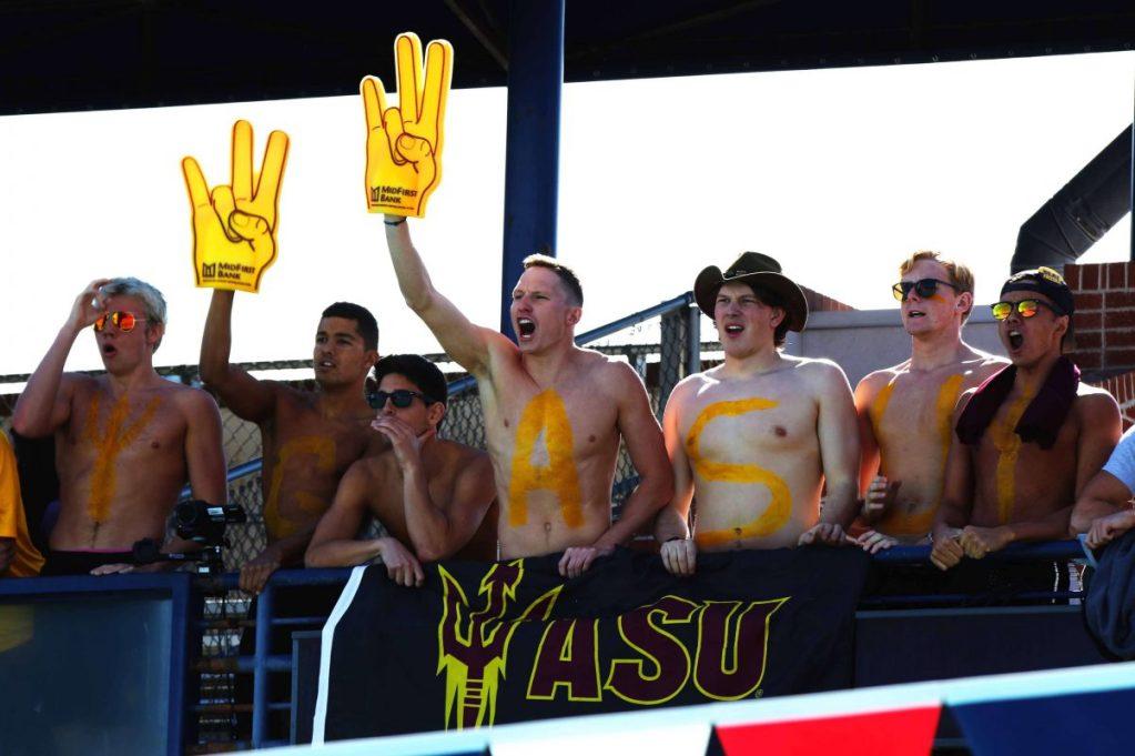 arizona-state-teammates-cheering-tucson
