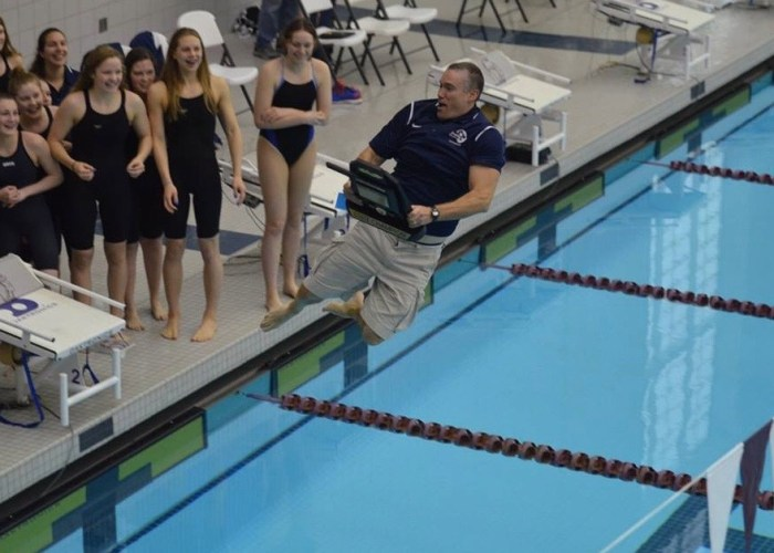 Chad Jumping Susan Bloomfield