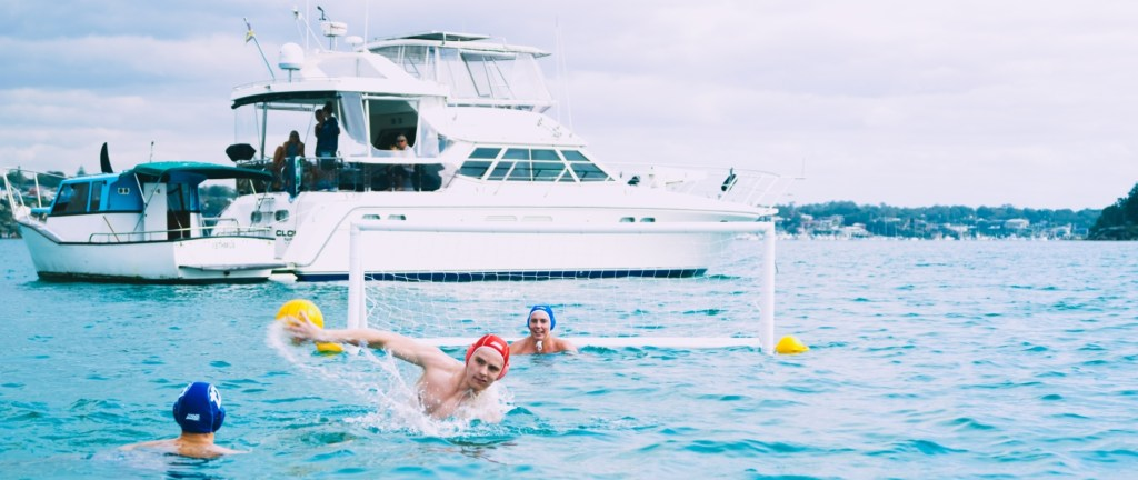 Beach Water Polo Fours trial run in New South Wales