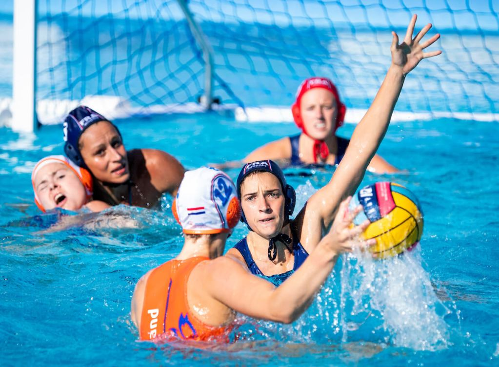 womens-water-polo-european-netherlands-france