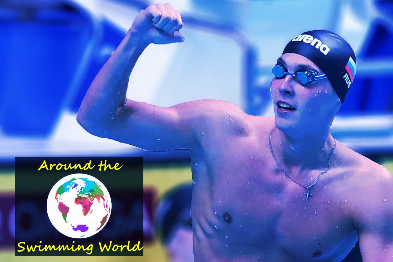 James Holder Swimming