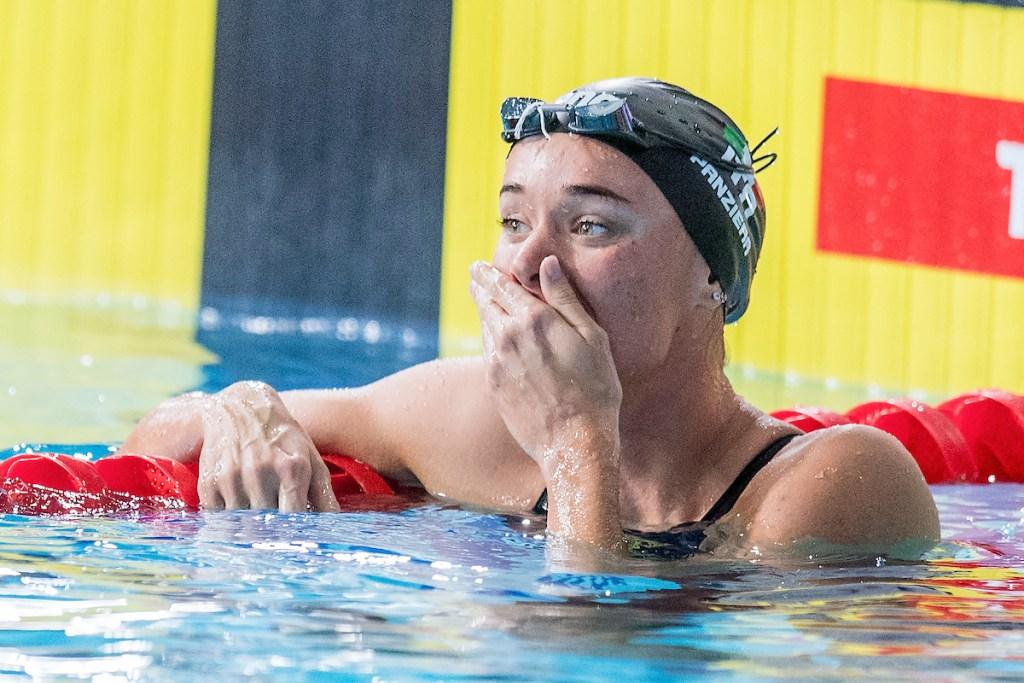 PANZIERA Margherita ITA Gold Medal 200m Backstroke Women Finals Glasgow 09/08/18 Swimming Tollcross International Swimming Centre LEN European Aquatics Championships 2018 European Championships 2018 Photo Andrea Masini/ Deepbluemedia/Insidefoto