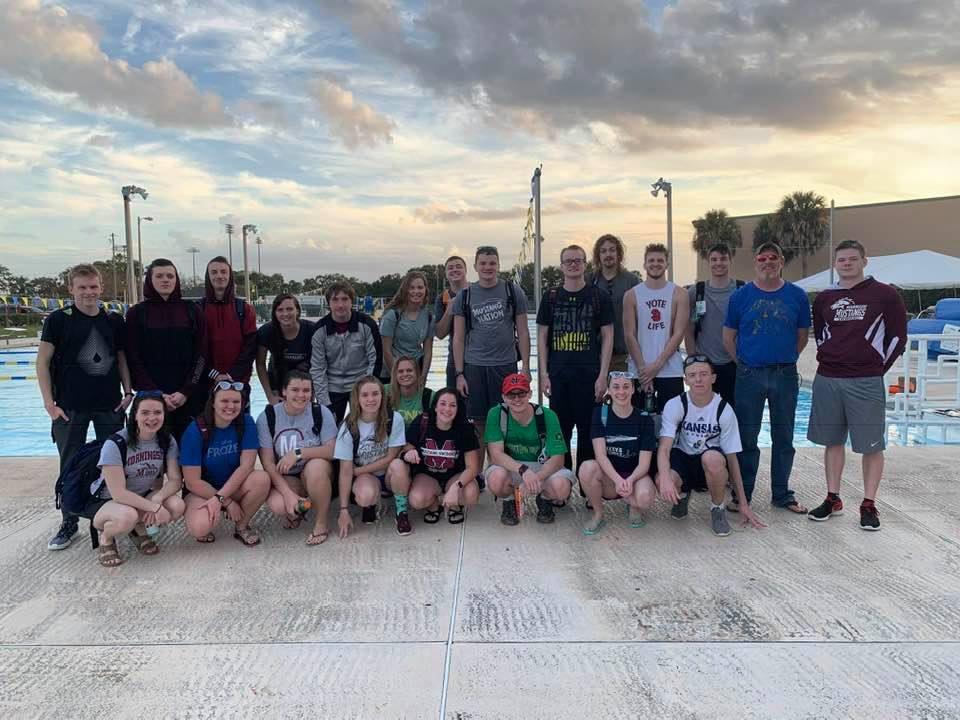 Morningside-swim-team-training-trip