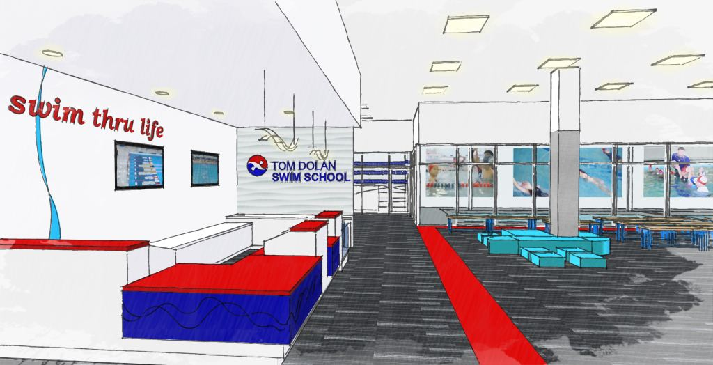 Tom Dolan Swim School_GTM Architects Rendering