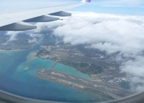airplane view