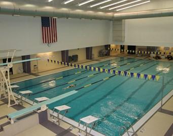 Maverick Nike Swim Camp pool