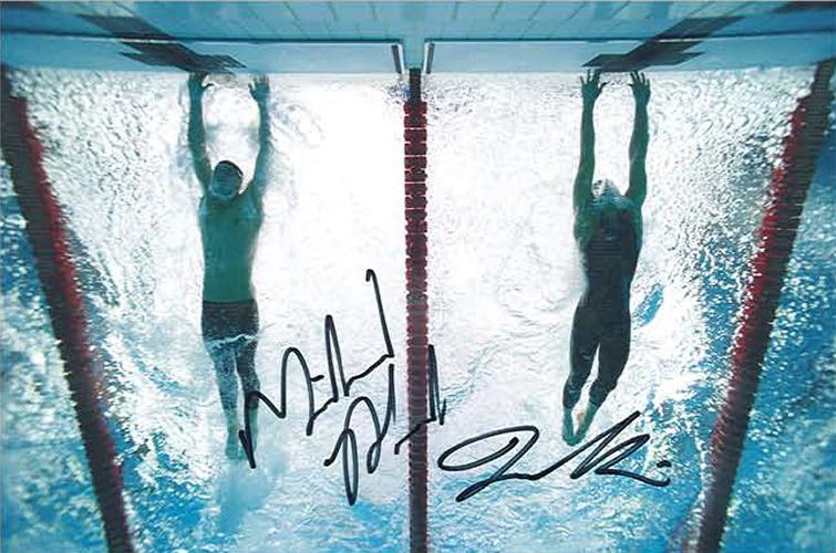 Touch Photo Michael Phelps Milorad Cavic