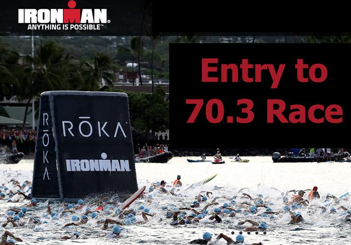 Ironman 70.3 entry