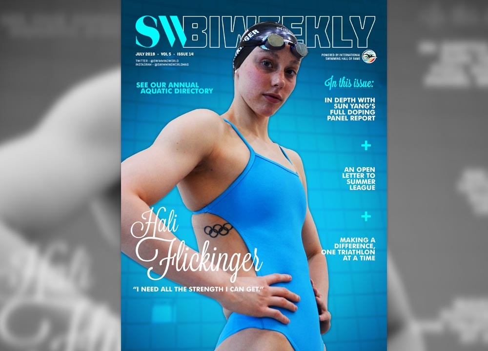 SWBW-07-21-19-slider SW Swimming World Biweekly July 2019 Hali Flickering
