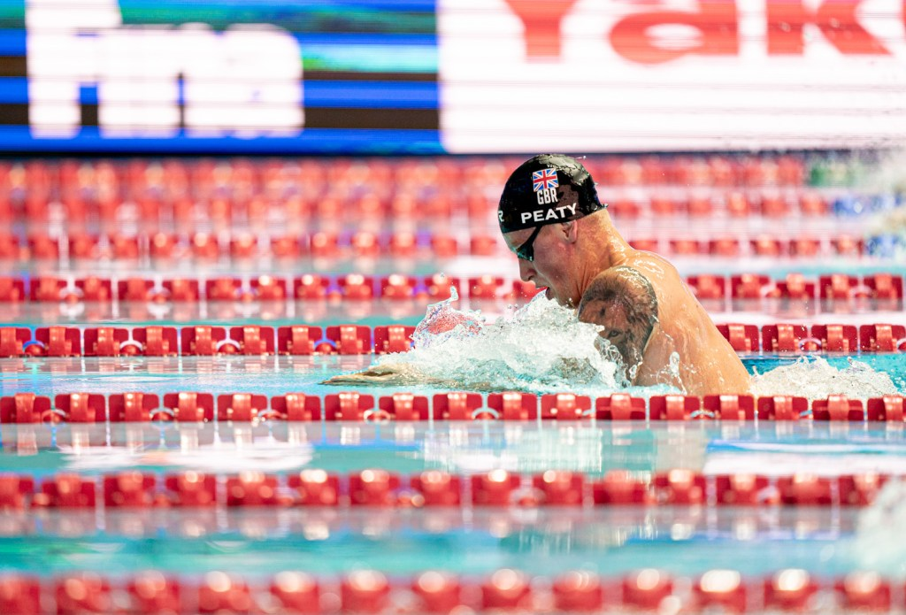 adam peaty, 2019 final world swimming championships