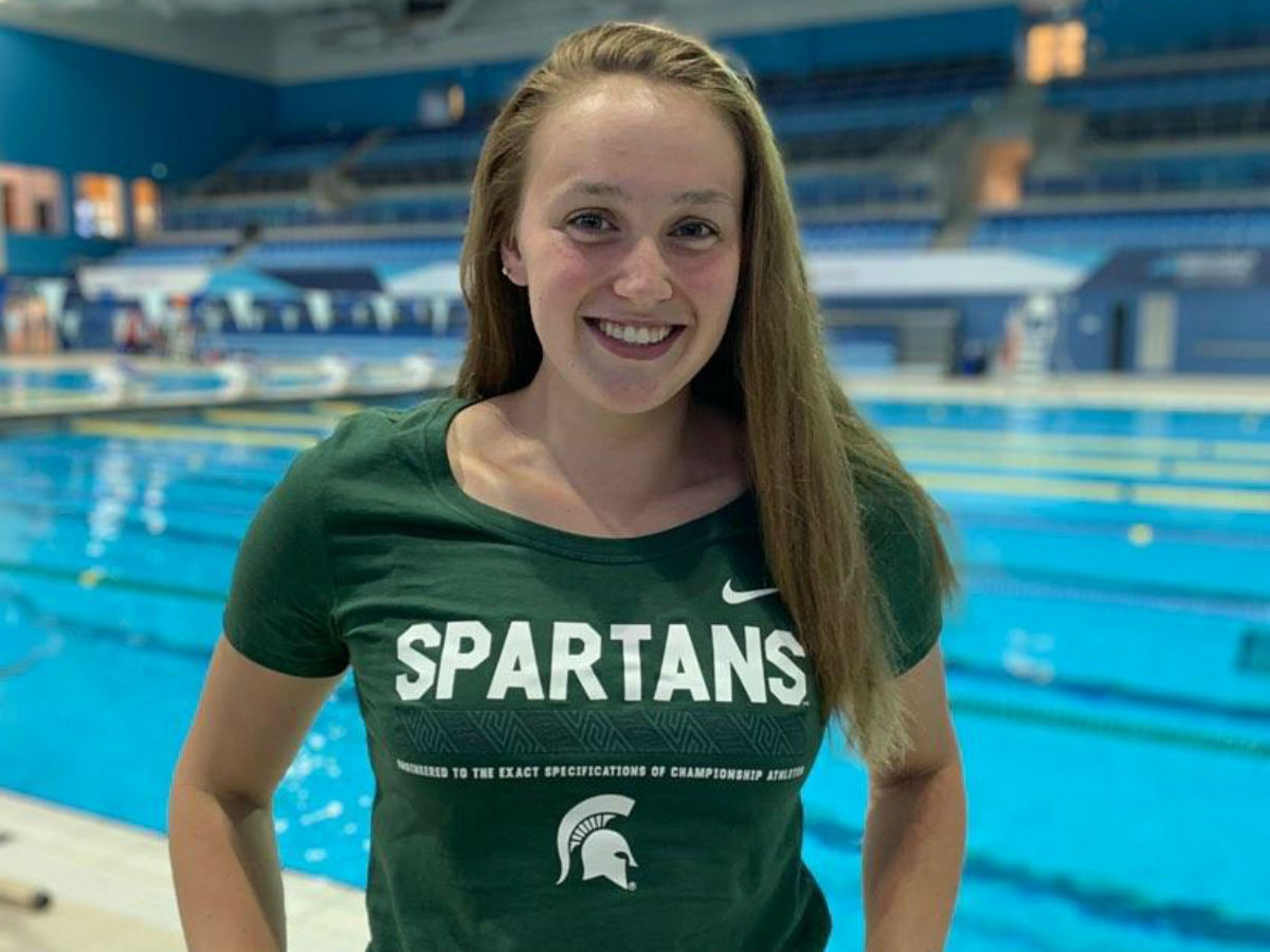 Two-Time Canadian Junior Championships Gold Medalist Olivia Starzomski Verbals to Michigan State