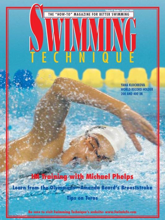 ST200404 Swimming Technique April - June 2004 Cover Michael Phelps