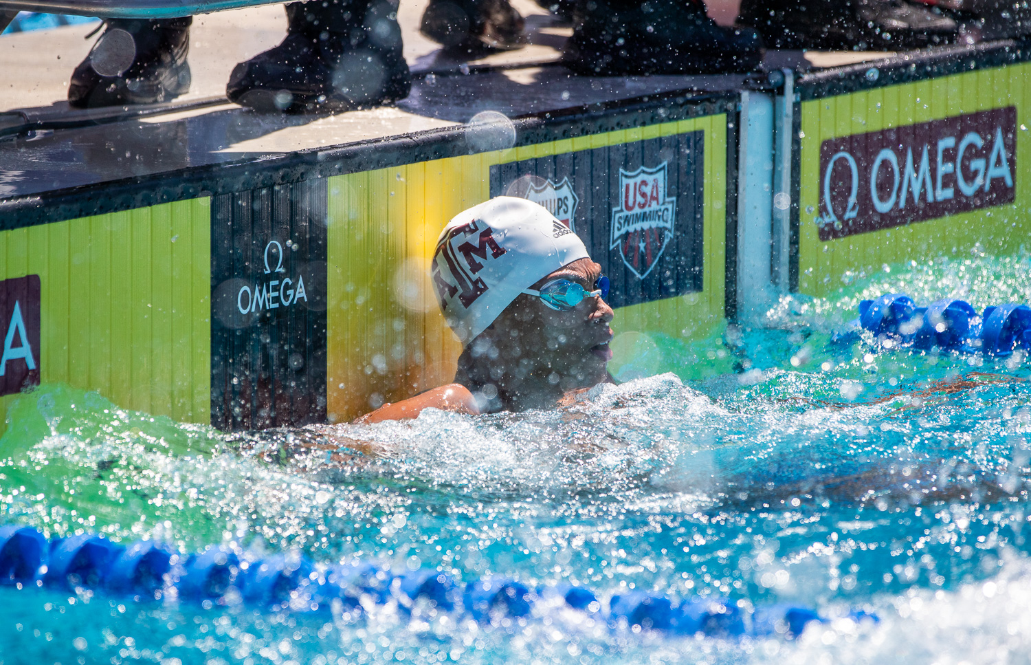 Shaine Casas Cracks 45 Seconds in 100 Fly as Texas A&M Sweeps LSU