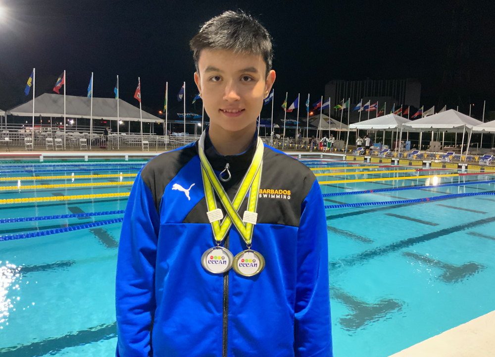 Swimming World September 2019 Up and Comers - Tristan Pragnell of Asphalt Green Unified Aquatics