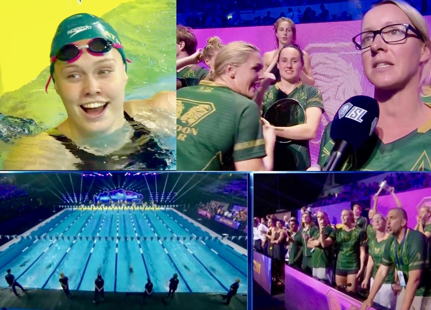 ISL, Budapest, Day 2, Live: London Roar & Leading Lioness Minna Atherton On Fire - Swimming World Magazine