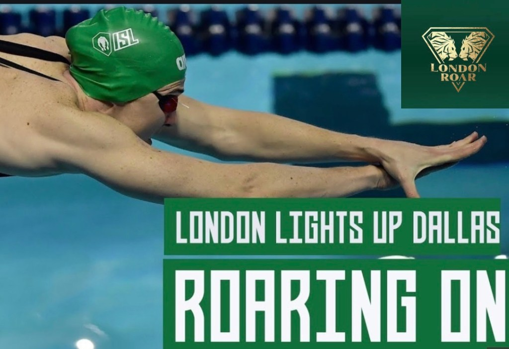 Cate Campbell on a Roar Photo Courtesy: ISLcatecampbelllondonroar