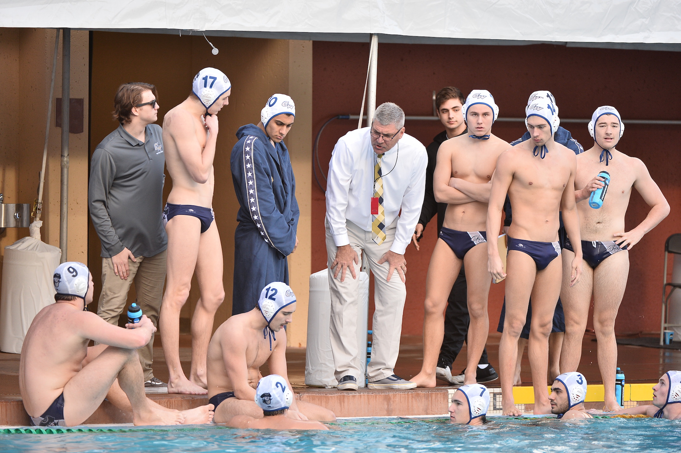 On Deck With Barry King, George Washington Water Polo Coach