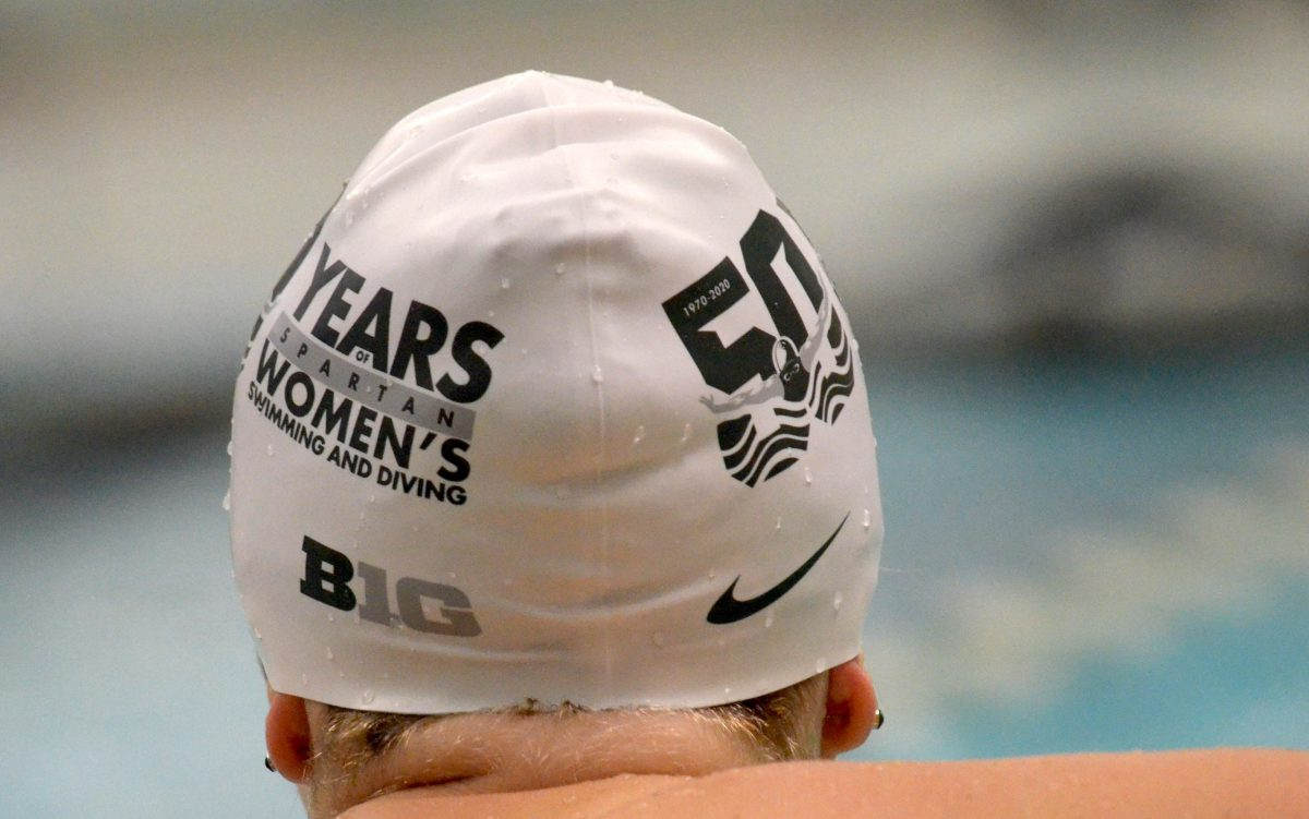 Michigan State Swimming and Diving Ties Illinois in 50th Anniversary of Spartan Women's Program