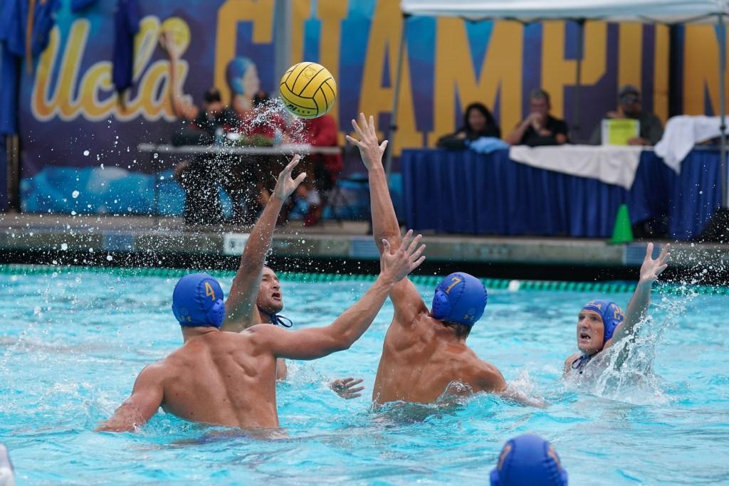 September 28, 2019; Spieker Aquatics Complex, Los Angeles, CA, USA; MWP: UC Santa Barbara Gauchos vs UCLA Bruins; Photo credit: Catharyn Hayne
