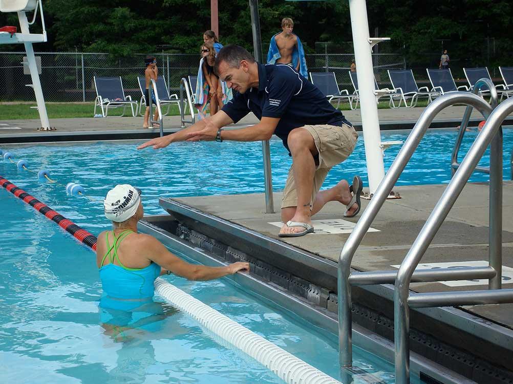 Coach-Swimmer trust